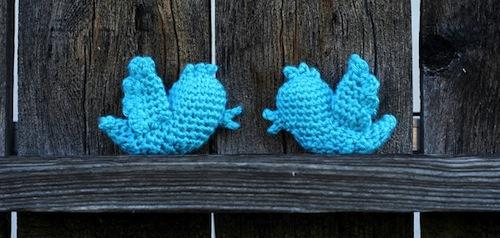 Free Twitter Bird Crochet Pattern by Bethsco