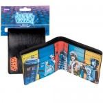Wallet featuring K-9, TARDIS, Cyberman, Dalek and Tom Baker