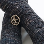 Katniss inspired socks
