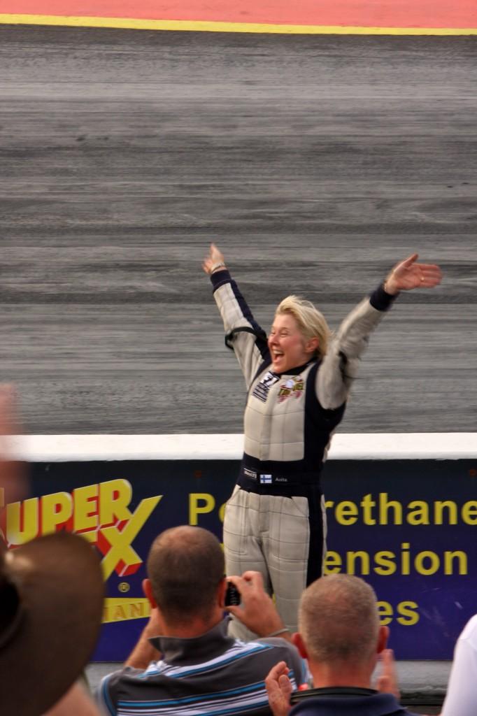 Anita Mäkelä, Top Fuel Dragster Winner!