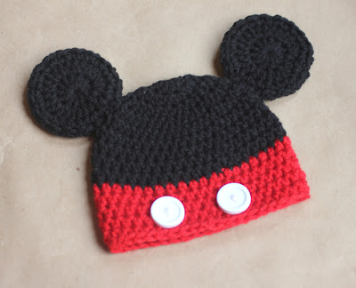 Mickey And Minnie Mouse Crochet Hat Patterns