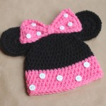 Crochet Pattern Minnie Mouse Hat