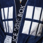 Tardis bath robe