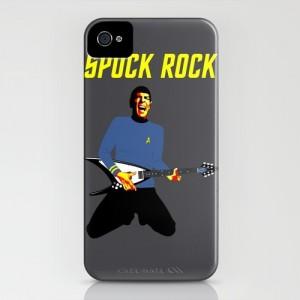 Star Trek Spock Rock iPhone case.