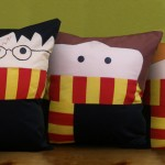Etsy handmade cushions. Harry Potter