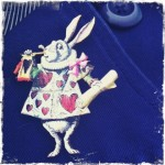 White Rabbit Brooch
