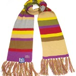 BBC Tom Baker's Doctor Who replica scarf