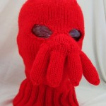 Dr Zoidberg knitted balaclava