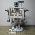 Exterminate! Exterminate! How to make your own paper robot automaton