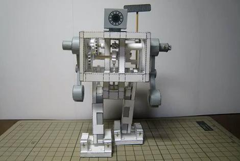 Automaton Paper Robot