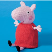 Peppa Pig knitting and crochet patterns!