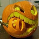 Pumpkin Cannibalism