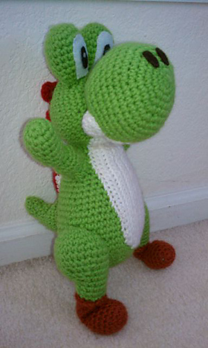 Yoshi Amigurumi and the best free Yoshi Patterns