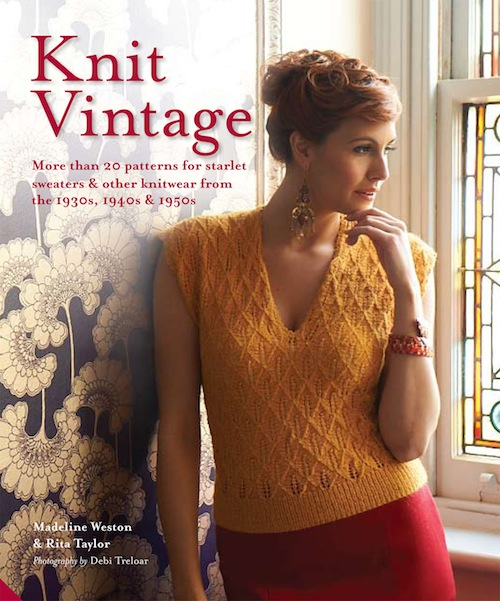 book is jam-packed full of projects based on vintage knitting patterns ...