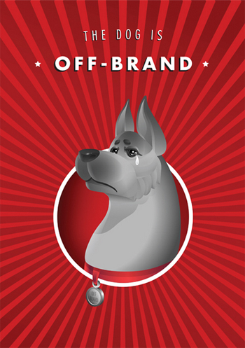 Sharp Suits Design Client's Daftest Feedback: The Dog is Off-Brand
