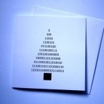 Binary Christmas Tree Card