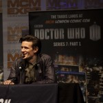 Matt Smith charms us all at London Comic-Con MCM Expo