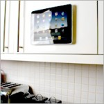 Apple iPad held by a Grippy Pad