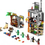 Teenage Mutant Ninja Turtle Lego: Turtle Lair Attack