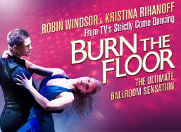 Burn The Floor 2013 Poster