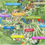 Map of Legoland WIndsor