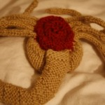 Knit A Monster! – A Knitted Alien Face-Hugger