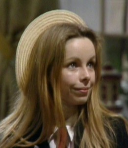 Romana II played by Lalla Ward