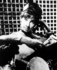 Susan Foreman, the unearthly child.