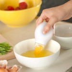 Quirky Pluck Egg Yolk Separator – neat idea for the kitchen