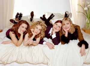 The SATC girls.