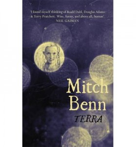 Cover for Terra, comedian Mitch Benn's debut novel.