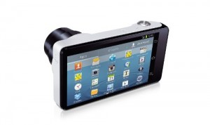Samsung Galaxy Camera screen