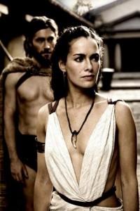 Lena Headey as Queen Gorgo in 300