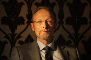 Lars Mikkelsen as Sherlock's new nemesis Magnussen.