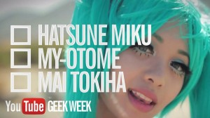 Get your Geek on with YouTube's Geek Week