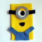 DIY Despicable Me Minion Phone Cozy