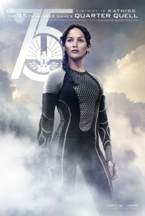 Katniss returns to the arena in The Hunger Games: Catching Fire