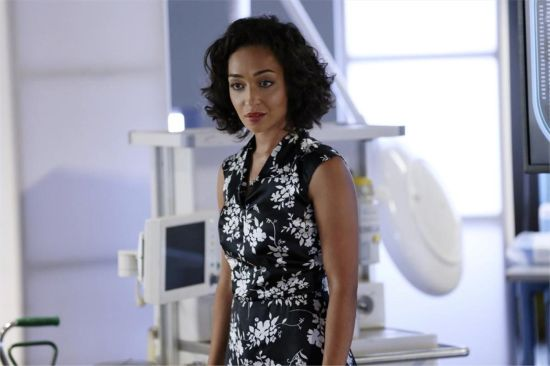 Ruth Negga as the mysterious Raina/Girl in the Flower Dress