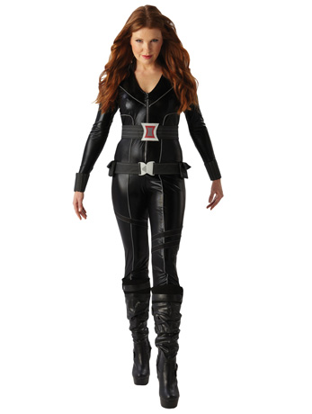 Black Widow costume.