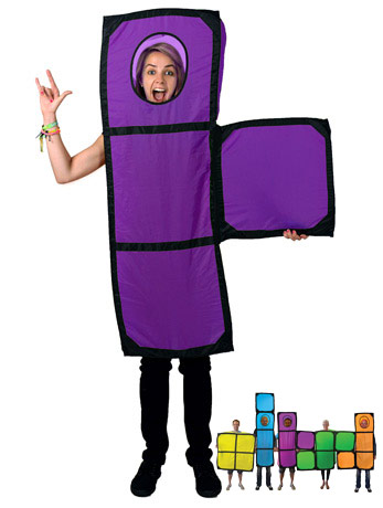 Dress as a Tetris T. No, really.