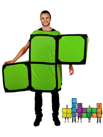 The Tetris S costume.