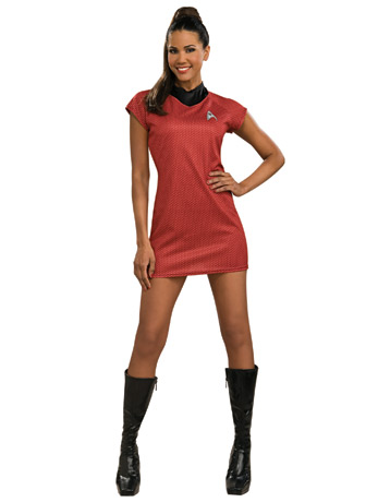 Dress up as Uhura for Halloween.