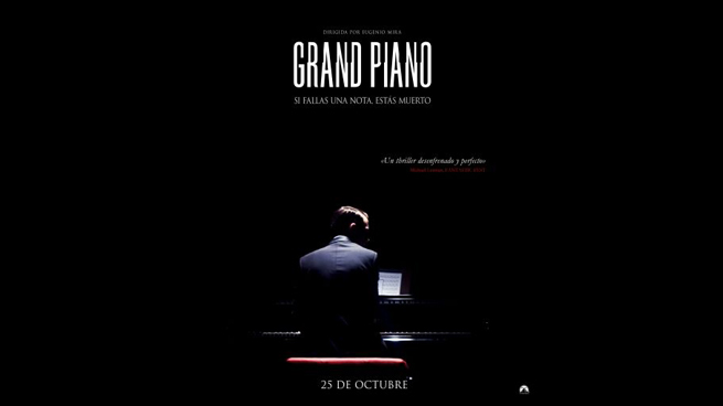 Grand Piano, starring Elijah Wood