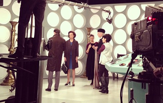 Still from An Adventure in Space and Time
