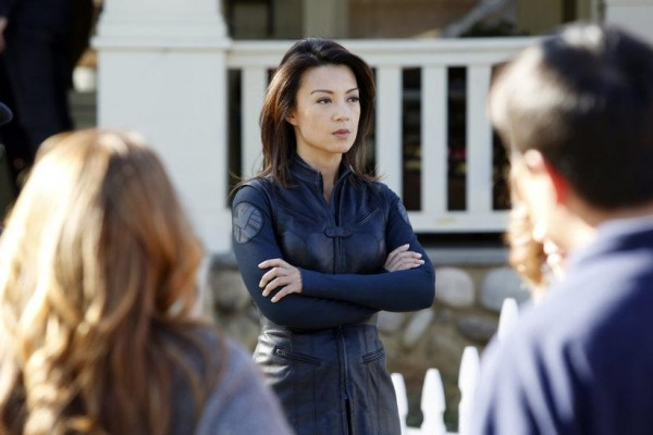 Ming-Na Wen as Agent Melinda May in Agents of SHIELD.