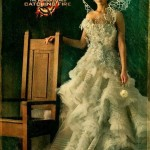 Jennifer Lawrence as Katniss Everdeen, in her official Capitol portrait.