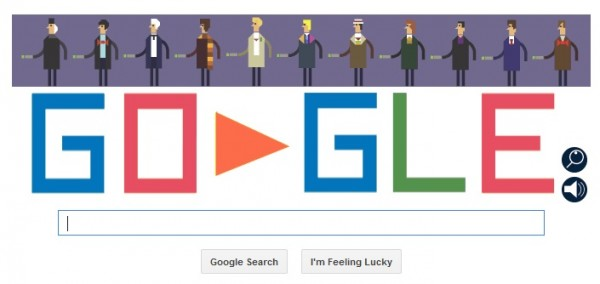 The Doctor Who-themed Google Doodle