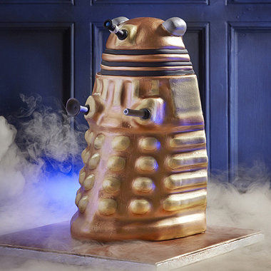 Lakeland's Dalek cake mould