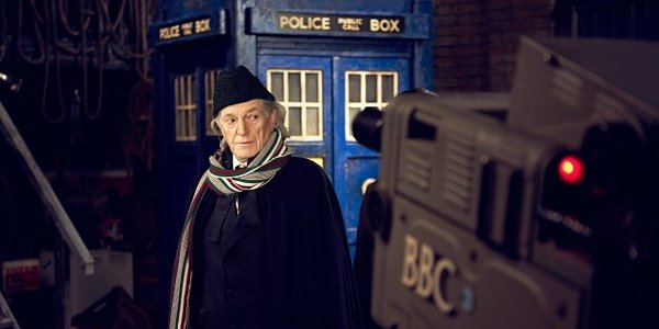 David Bradley as First Doctor William Hartnell