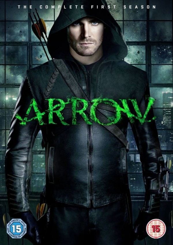 Stephen Amell as Oliver Queen/Arrow
